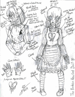 CP OC OFFICIAL REFERENCE: The Broken Hearted Doll by InvaderIka
