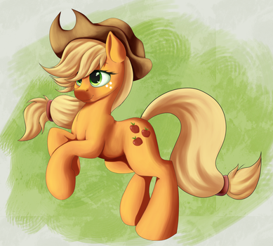 Applejack (updated) by AC-whiteraven