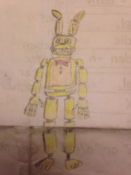 Spring-Bonnie Drawing by EpicAwesomeRandoms