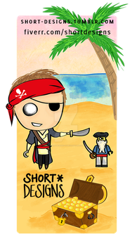 TinyPeople: Pirate by shortdesigns-x