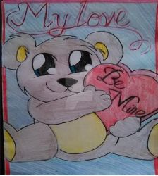 Valentines Day Card by beyoncerules