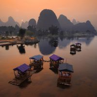 Yulong River Bridge by foureyes