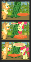 Applejack and the Beanstalk by postcactus