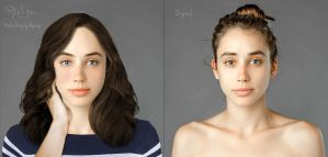 Before and After - Inspired by Esther Honig by Angbryn