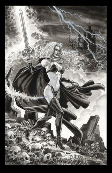 Lady Death 2016 by BillReinhold