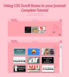 TUT: Using CSS Scroll Boxes by Talei