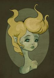Lady of the Lagoon by flashparade