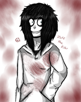 Jeff the Killer by cryptidroad