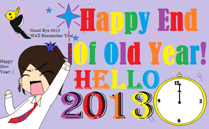 HAPPY END OF OLD YEAR! by Drizzle-The-Glaceon