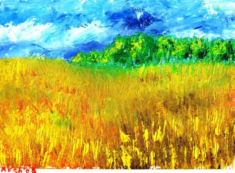 Extended cornfield by WasfiAkab