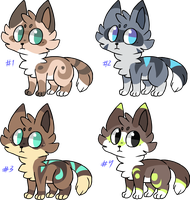 warm up adoptables series 2 [CLOSED] by corvidcurse