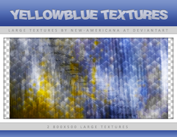 YellowBlue Large Textures by new-americana