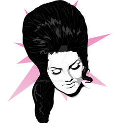 Miss Bouffant by mandymcgee