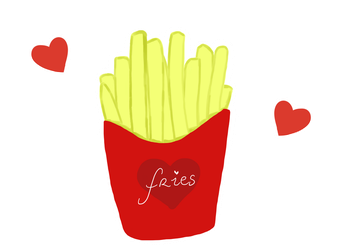 Fries by Blackrystall