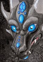 ACEO From the darkness by NikiKalat