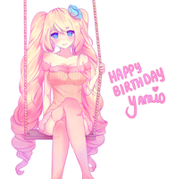HBD Yamio!~ by catpillo