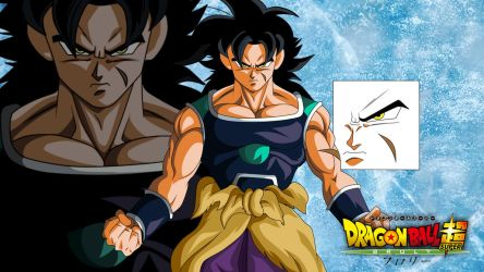 BROLY DBS THE MOVIE 2018 by Alejandrors23