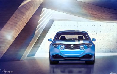 Renault 8 Gordini - concept V1 - 8 by cipriany