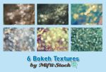 6 Bokeh Textures Pack by Mifti-Stock