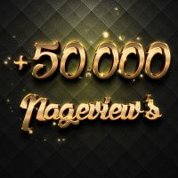 +50.000 Pageviews Thank You! by daWIIZ
