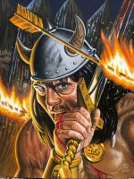 Barbarian at the Gate by JTRIII