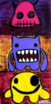 MONSTERS by Japah