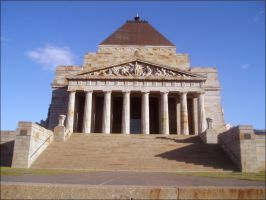Shrine of Rememberance - 1 by Lilithia