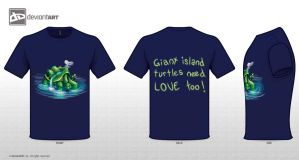 Cute monster contest - giant island turtle by tsuta