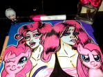 mlp pinky and pinkamena by queencastilla