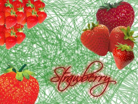 Strawberry by Butterflusel