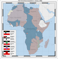 German colonies in Africa 1944 (alternate history) by Arminius1871