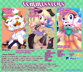 .:POINTS Y PAYPAL COMMISSIONS ABIERTAS:. by MimiGuerrero