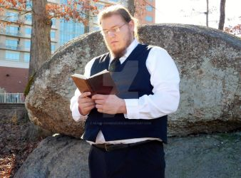 Hohenheim Reading stand by Music-anime4Ever