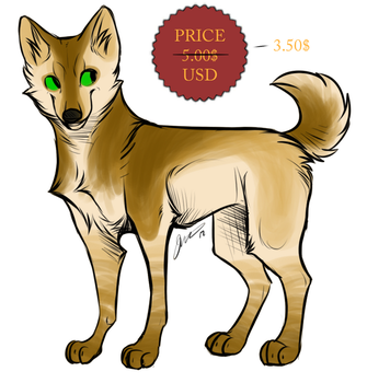 K9 Adoptable - 1 - $3.50 by Lust-Bunny
