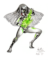 Commission Bare Sqaudron Mera Pyso by Shane-Emeraldwing