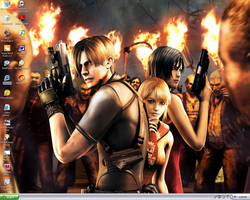 Resident Evil 4 wallpaper by carboardbox