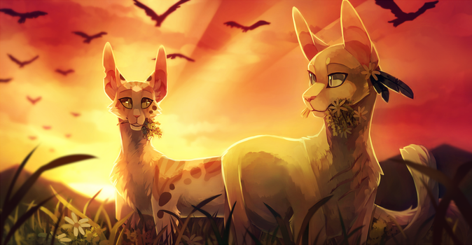 Anxiety Soothing Sunset by LttleGhost