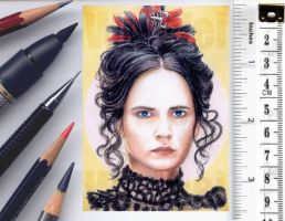 Penny Dreadful sketchcard by whu-wei