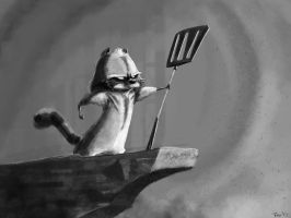 Sgt. Sprinkles: Leader of Spatula Division by GrizzlySlippers
