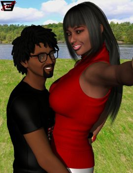 Lucky Nerds- Maurice and LaTashia's Selfie by ImfamousE