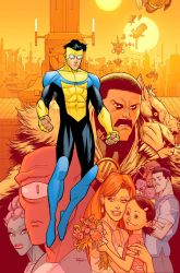 Invincible 133 cover by RyanOttley