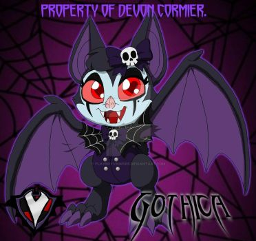 Gothica - Candy the Bat by PlayboyVampire