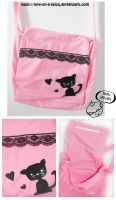 Kitty Bag by love-on-a-stick