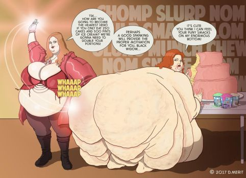 SSBBW Superheroines by renderedspeechless