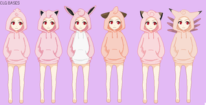 :299:Pokemon Sweaters Base Edit 5 :IggyPixel: