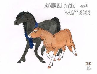 Sherlock Horses by Everch