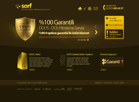 SORF.ORG DDOS SECURITY CENTER by csavsar