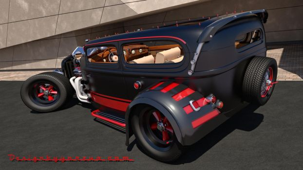 Ford Custom Hot Rod by SamCurry