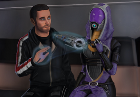 Isaac and Tali (4) by spaceMAXmarine