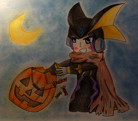 Cute or scary? by Siavaa